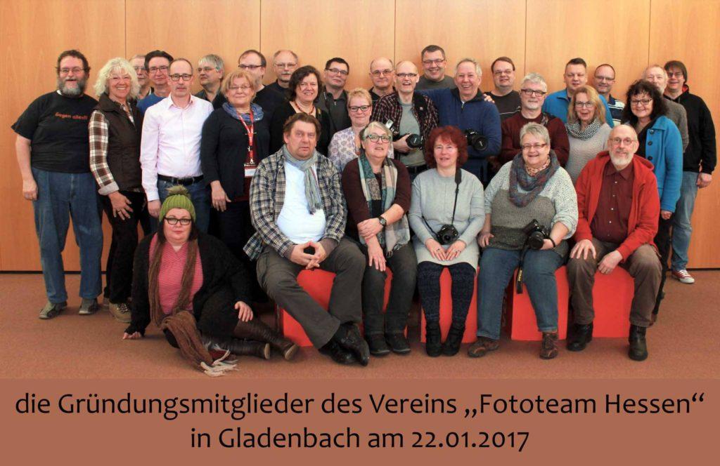 Gründungsmitglieder am 22 .Januar 2017 im ver.di Bildungszentrum Gladenbach, Foto: Ralf Quadflieg