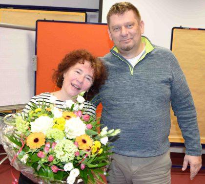 ein großes Dankeschön an Solveig Kollar-Eggert für ihre Engagement im Aufbau des Vereins