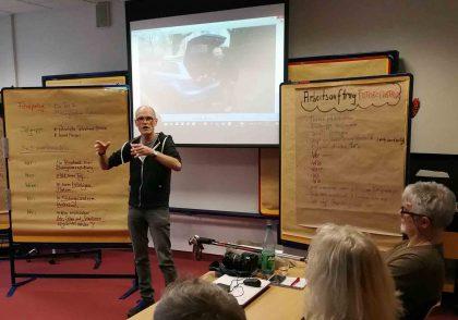 Vorstellung der Reportage der Gruppe 1 - Ein Tag im BZ Gladenbach