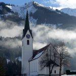Kirche im Kleinwalsertal