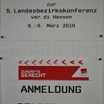 2019-03-08/09 Landesbezirkskonferenz ver.di Hessen