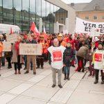 2019-03-23 Warnstreik der Beschäftigten des Landes Hessen