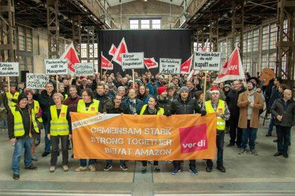 2019-12-21 Streik bei Amazon vor Weihnachten
