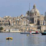 Skyline von Valetta, Malta