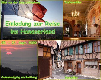 Einladung zur Fotoreise im September 2020 ins Hanauerland im Elsass