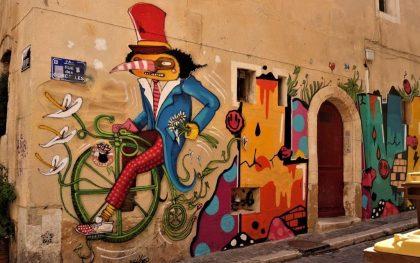 Mit dem Fahrrad unterwegs in Marseille