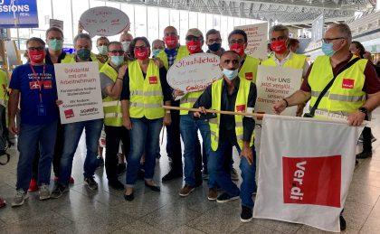 Solidarität mit uns Arbeitnehmern!