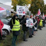 """""""Wir halten den Laden am Laufen - jetzt seid ihr dran"""" - Warnstreik am 15.10. in Bad Vilbel"""