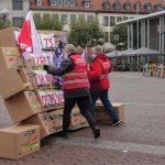 Wir reißen die Ost-West-Arbeitszeitmauer nieder - Streikaktion am 16.10. in Hanau
