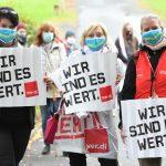 Wir sind es wert - Warnstreik auch in Gelnhausen/Main-Kinzig-Kreis