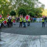 Auftakt der Tarif- und Besoldungsrunde für die Beschäftigten des Landes Hessen in Wiesbaden