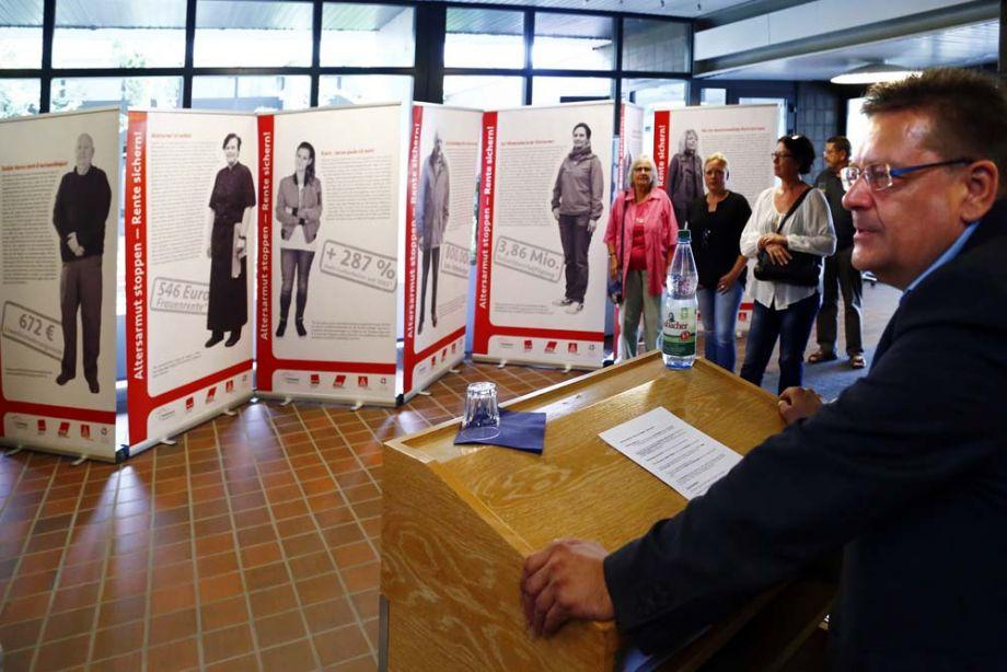 Eröffnung Ausstellung am 17. Juli 2017 im Rathaus Erlensee