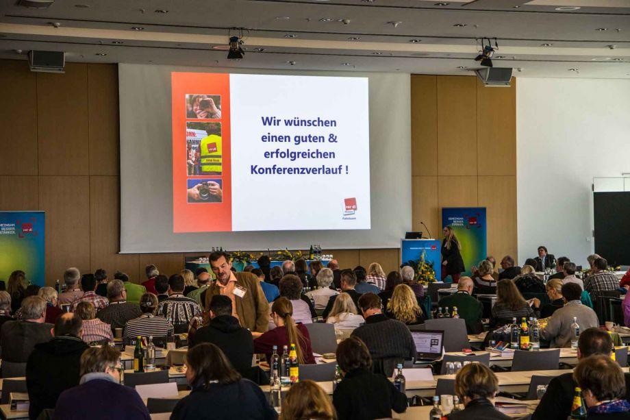Regieplan: Beispiel Konferenzbeginn